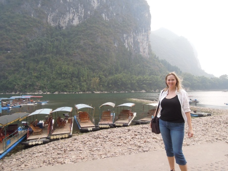 Li River, photo by Alison Chang